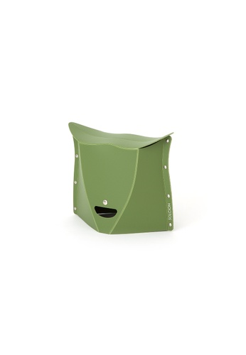 Solcion Patatto 250 - portable compact stool (Olive) 55C1DHL2DC42CCGS_1