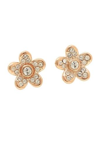 Marc Jacobs gold Marc Jacobs Flower Studs Earring Rose Gold M0012401 68BAEACF24958DGS_1