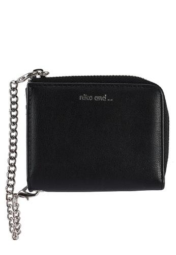 niko and ... black Mini Print Wallet 2EAC1ACD334008GS_1