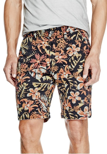 Guess multi Carter Jungle Camo Shorts GU020AA0GUNHSG_1
