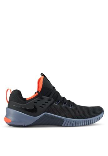 Nike black and blue Men's Nike Metcon Free Shoes 842CESH8CFCBF0GS_1