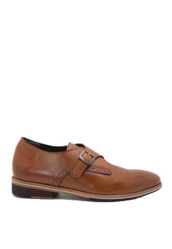 Nappamilano brown Edmond Single Strap NA608SH65RUWID_1