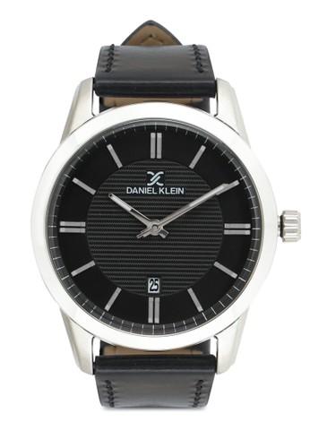 Daniel Klein black Jam Tangan Pria DK11844-2 Genuine Leather 11E6DACB5875BDGS_1