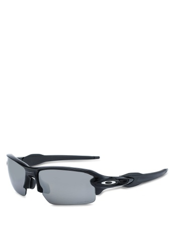 Oakley black Sports Performance OO9271 Sunglasses 7EED9GLD778531GS_1