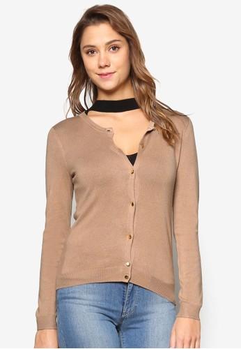 纖esprit女裝維膠針織薄外套, 服飾, 服飾