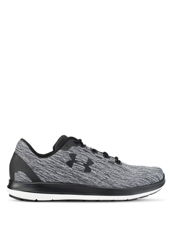 Under Armour black and white UA Remix Shoes UN337SH0SUA3MY_1