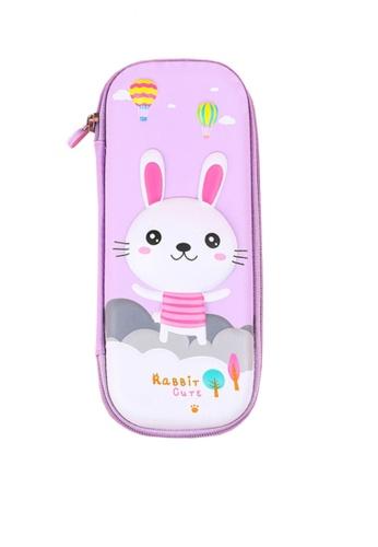 Twenty Eight Shoes purple VANSA Little Rabbit Series Pencil Case  VAK-A6674 9074DKC30F3E05GS_1