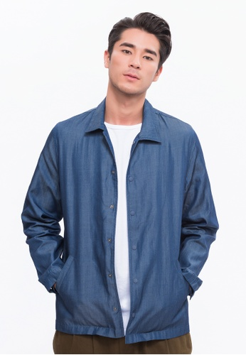Alpha Style blue Harford Coach Jacket AL461AA0FVCRSG_1