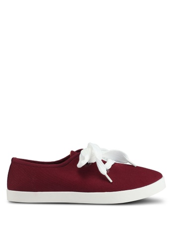 Rubi brown Indy Bow Plimsolls AF2DASHD1583EDGS_1