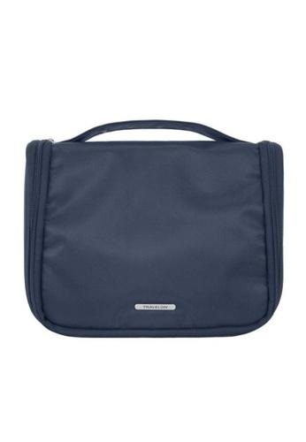 Travelon blue Travelon Essential Hang Toiletry Steel Blue 4C3E3AC671B264GS_1