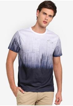 580cfefcf Burton Menswear London multi and navy White Brooklyn Fade Print T-Shirt  2D437AA89B96C9GS_1