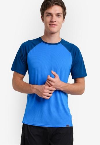 Patagonia blue Cap Lightweight T-Shirt PA549AA09WZYMY_1