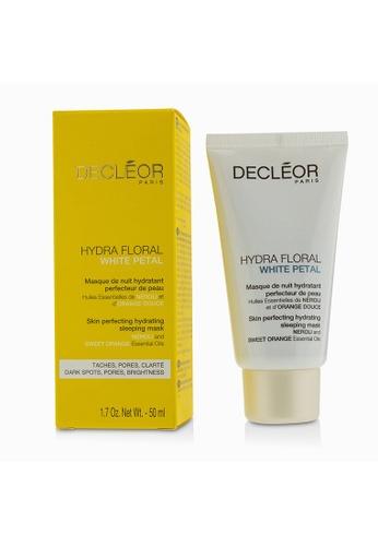 Decleor DECLEOR - Hydra Floral White Petal Neroli & Sweet Orange Skin Perfecting Hydrating Sleeping Mask 50ml/1.7oz 363A5BE3849427GS_1