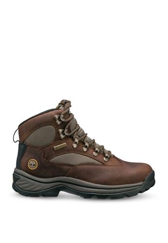 Timberland brown Chocorua Trail Mid Gore-Tex Boots DA979SHEFE41B4GS_1