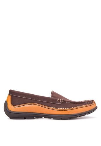 Bristol Shoes brown Ferrari Brown Driving Shoes BR842SH23PMIPH_1