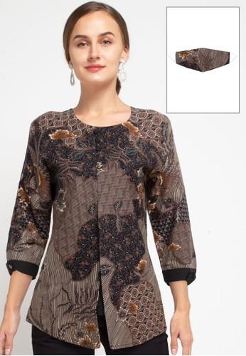 Rianty Batik black Blouse Denia Sogan 66654AA09DFC51GS_1
