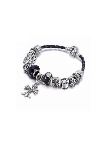 ADORA black Charm Bracelet AD365AC15OXKHK_1
