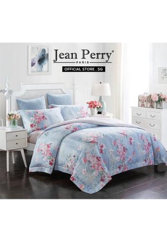 Jean Perry Jean Perry Renate Ecosilk Collection 800TC Santorini - Quilt Cover Bed Set  - Queen 6C584HLA3EC798GS_1