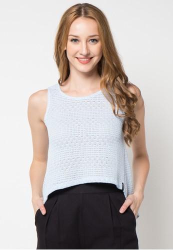 X8 blue Cara T-Shirt X8323AA05WISID_1