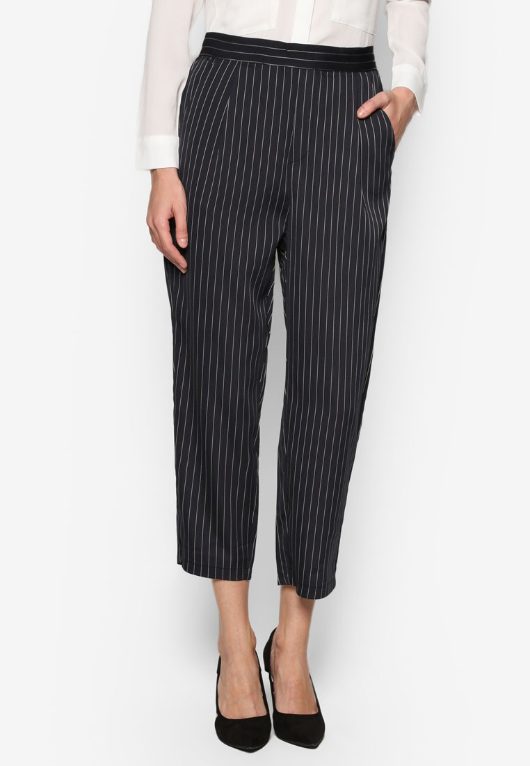 Collection Tapered Pants With Pleats