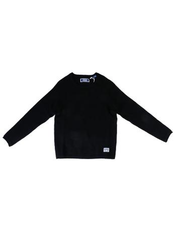 Jack & Jones black Knit Sweater CAD12KAF7AF15FGS_1