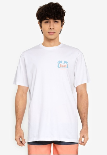 Rip Curl white Vacay Tee 19F20AABD03616GS_1