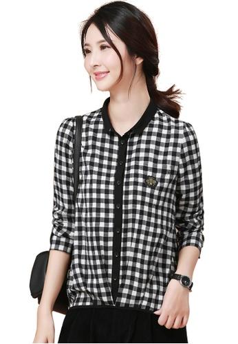 06f8cdd67c35ba Buy A-IN GIRLS Stylish Checkered Shirt | ZALORA HK