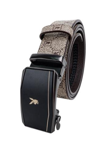 Playboy brown 35mm Automatic Belt 8D02DAC747C280GS_1