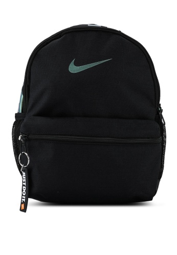 Nike black Brasilia JDI Mini Backpack EE5BDKC855E253GS_1