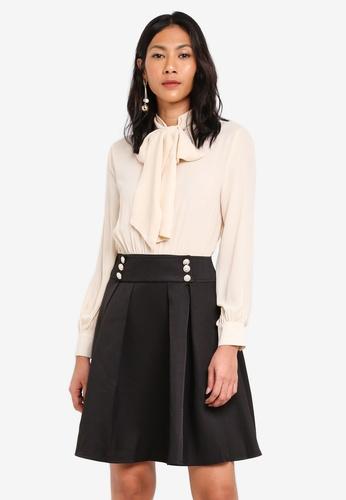 Megane beige Essential Reanna Dress FCCF3AA2B86D80GS_1