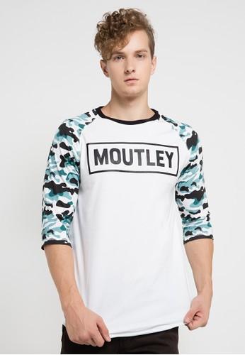 MOUTLEY white Mtly Tshirt 1309 MO264AA0UCWJID_1