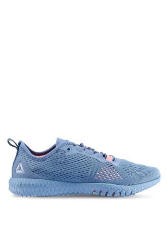 Reebok 灰色 and 粉紅色 and 藍色 Astroride Flex TR 訓練鞋 9C8DCSH14A6D86GS_1