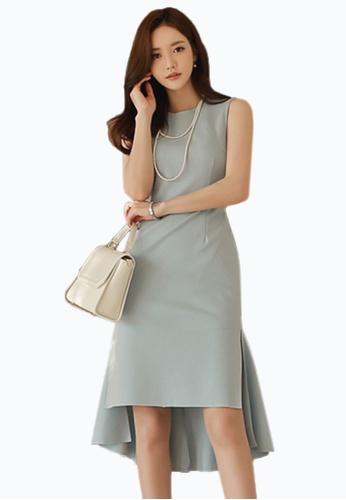 Sunnydaysweety blue 2017 S/S Sweet Blue Vest one piece Dress UA033101 SU219AA42DVTSG_1