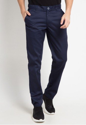 Tolliver navy Long Pants Chinos 12F0FAA51F0EB1GS_1