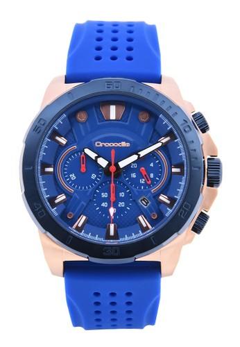 Crocodile Timepiece blue Jam Tangan Sport Pria Crocodile Warna Biru Silikon CM-010D34C 51233ACB01F9BCGS_1