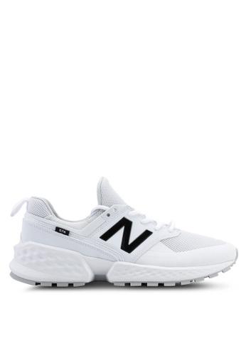 New Balance white 574S V2 Tier 3 Tonal Shoes 25339SHCAC6979GS_1