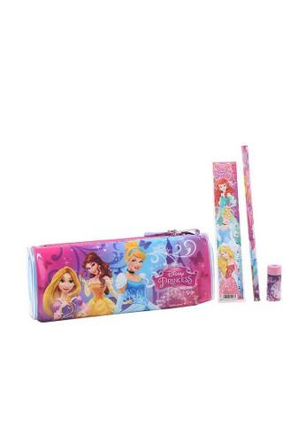 Disney blue Disney Princess Stationery Set Pencil Case Oval 1F764KCEF3685EGS_1