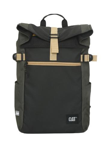CAT black CAT Heritage Dallas Rolltop Backpack 7AF73ACBDB5C79GS_1