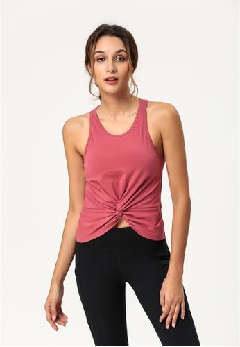 ZITIQUE black Fitness And Yoga Sporty Cross Strap Bra Top - Black. AD843US4FA19DCGS_1