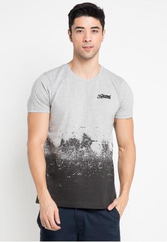3SECOND grey Tshirt 0911 3S395AA0V6APID_1