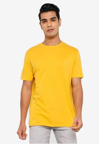 Springfield gold Basic Logo T-Shirt A6B59AA2ED1B8DGS_1