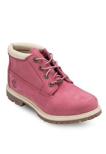 Timberland Nesprit 工作ellie 休閒防水靴, 女鞋, 鞋