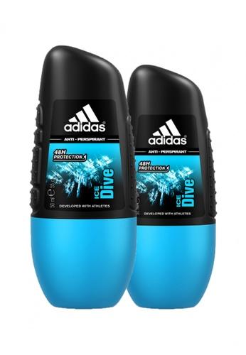 borroso Problema Instalación  Buy Adidas Fragrances Adidas Ice Dive Anti-Perspirant Deodorant Roll-on for  Him 40ml x 2 Online   ZALORA Malaysia