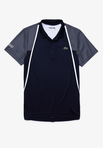 Lacoste white Lacoste Men's Lacoste SPORT Mesh Sleeved Breathable Tennis Polo Shirt 79CADAAFB7791CGS_1