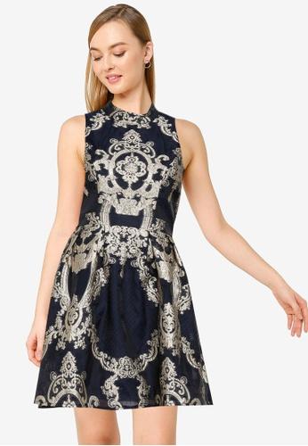 CHI CHI LONDON blue Chi Chi Elexa Dress E8C1FAA9F1146CGS_1