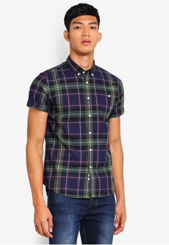 Electro Denim Lab 藍色 Madras Check Shirt BF4EDAA946EAA2GS_1