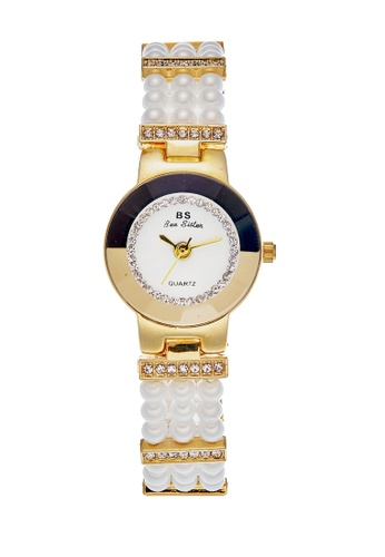 Bee Sister gold Japan Design Japan Movement Bee sister Pearl Watches E7F98ACB0813C4GS_1