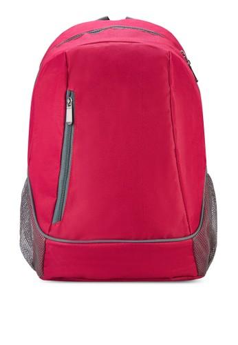 網眼側口袋後背包, 包, 飾品zalora時尚購物網的koumi koumi配件