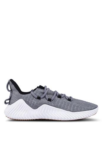 adidas grey adidas alphabounce trainer 2B8A3SH71BEEF9GS_1