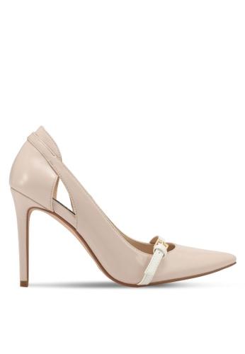 ZALORA beige Classic High Heels F5813SH56A4121GS_1
